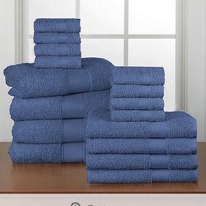 16pc Everyday Bath Towel Set